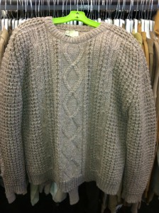 Hand Knit Sweater from Ireland