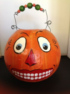 My Vintage Jack O Lantern Candy Container